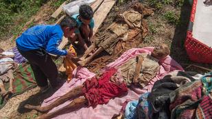 Indonéziában népszokás a halottak kiásása