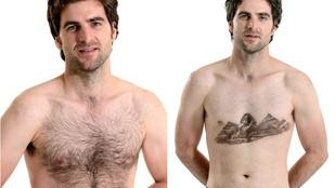 Ilyen a mellkasszőr-borotválás művészi színvonalon