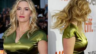 Majdnem szétpattan a ruha Kate Winslet mellein