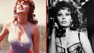 Sophia Loren legdögösebb képei