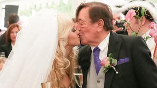 Ezt a 81 éves vőlegényt bárki megirigyelhetné