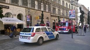 Bréking: Odakozmált az ebéd a Bethlen Gábor utcában
