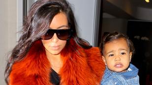 Kim Kardashian lánya egy igazi grimaszkirálynő
