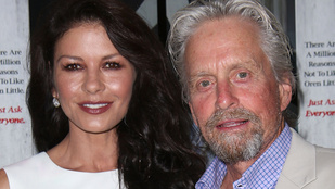 Michael Douglas 70, Catherine Zeta-Jones pedig 45 lett