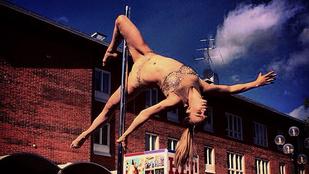 Ez a finn nő a legmenőbb rúdtáncos