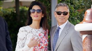Itt van minden fontos részlet Clooney-ék esküvőjéről