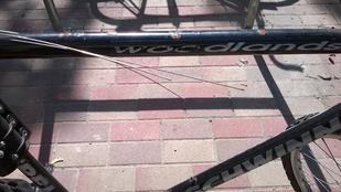 A pofátlanság csúcsa biciklirongálásban