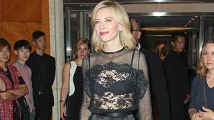 Így fedi fel bájait Cate Blanchett