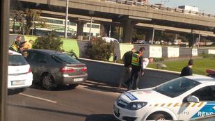 Rendőri akció a Flórián térnél