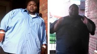 295 kilósan ő Amerika új fitneszsztárja