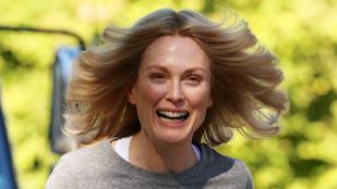 Julianne Moore nagyon ijesztő, amikor siet