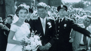 Soha nem látott képek Kennedy esküvőjéről