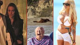 A hét képei: Miley Cyrus pucér seggét álmában fotózták le