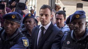 Öt év börtönre ítélték Oscar Pistoriust
