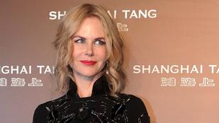 Váratlan fordulat: Nicole Kidman jól néz ki