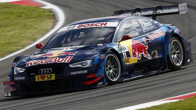 Az Audi jelenleg másik fontos terepe, a DTM