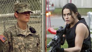 Melyik színésznő a legdögösebb katona?