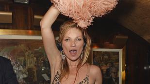 Kate Moss kicsit szétcsapta magát