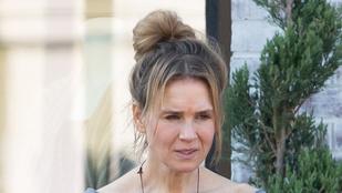 Így néz ki most Renée Zellweger smink nélkül