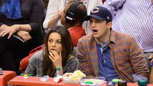 Azt állítja egy nő, hogy Ashton Kutcher vele csalta Mila Kunist