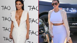 Fogyóban Kim Kardashian segge?!