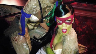 Rihanna ribancos tini nindzsa teknős volt