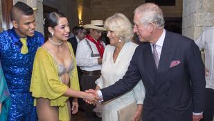 Károly herceg találkozása a bugyiban táncoló nővel