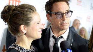Megszületett Robert Downey Jr. harmadik gyereke