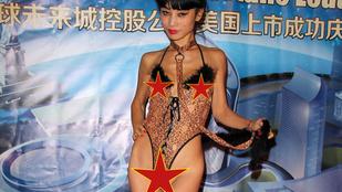 Bai Ling nem vacakolt a ruhákkal