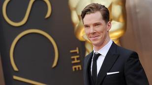 Benedict Cumberbatch eljegyezte a barátnőjét