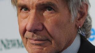 Harrison Ford nagyon megöregedett