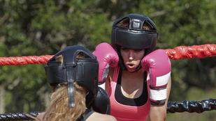 Ki lennél a VV Éva vs Aleska Diamond bokszmeccsből?