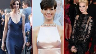 Anne Hathaway ritkán villant, de akkor nagyot