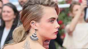 Cara Delevingne kiszívott nyakú pasijával büszkélkedik