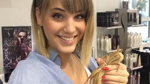 Szexi lett rövid hajjal Nyári Diána