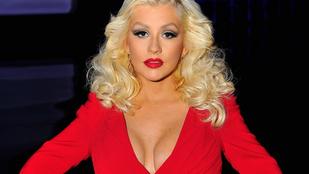 Így néz ki Christina Aguilera szülés után