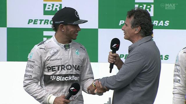 Hamilton jól kezelte Piquet-t