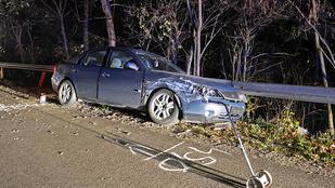 Filmbe illő autós üldözés volt Mogyoród közelében