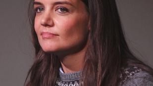 Ijesztően néz ki Katie Holmes