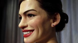 Anne Hathaway viaszfiguráját az Uborka bábkeszítői csinálták
