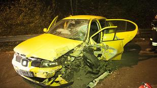 Súlyos baleset a Nagykovácsi úton