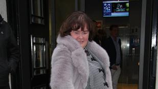 Rég büntetett így fotó: Susan Boyle szexi pózban