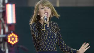 Taylor Swiftnek is volt ciki sulivideója