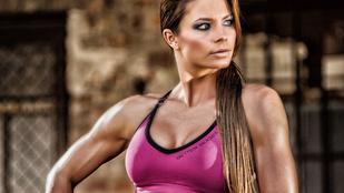 Bikiniversenyen tarolt Las Vegasban a legdögösebb magyar fitmodell