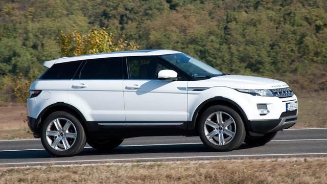 Ilyen egy igazi Range Rover Evoque