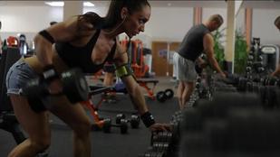 Magyar nő lett Miss Fitness Universe