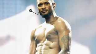 Megtapasztalták, milyen Usher félpucéran