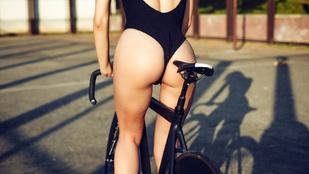 Emberek, akik bringával szexelnek