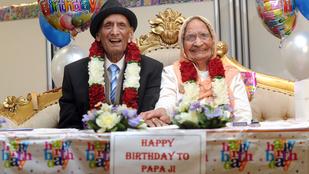 13 évesen ment férjhez, 89 éve házasok