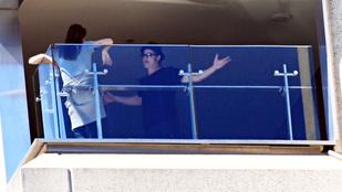 Brad Pitt a dohányzó Angelina Jolie-val veszekedett